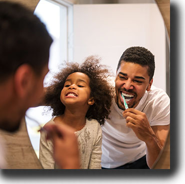 Oral health care begins at home