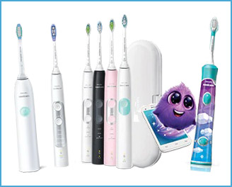 Sonicare electric toothbrushes are a great investment in home dental care