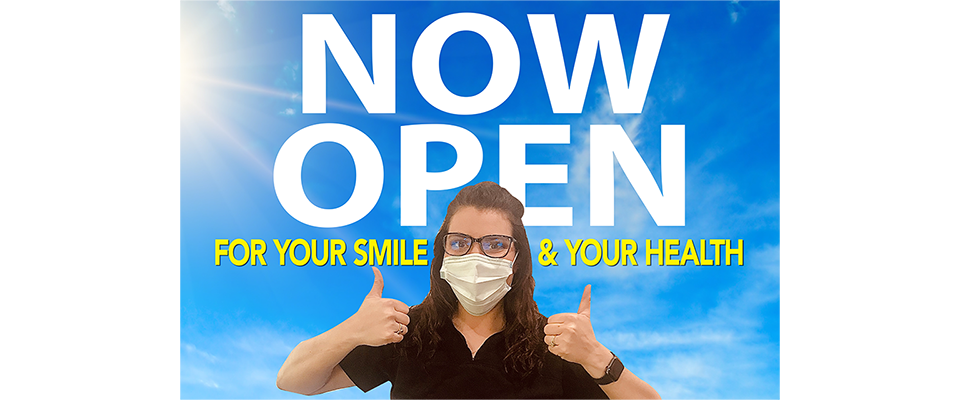 J. de Graffenried Dentistry is open and taking extra precautions to assure your safety.